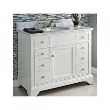 34 Bathroom Vanity Fairmont Designs 1502 V42 Framingham Polar White Bathroom Vanity