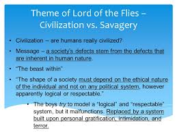 lord of the flies themes and messages lord of the flies our society essay help