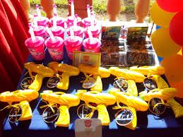 transformer party favors host a transformers birthday party kids birthday