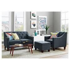 living room ls target felton tufted small storage ottoman threshold target
