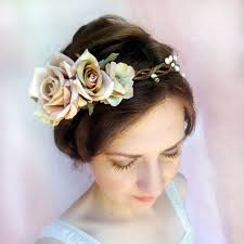 floral hair accessories flower hair for wedding best 25 pink floral crowns ideas on