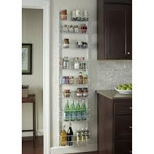 kitchen cabinet door storage racks 8 tier cabinet door organizer