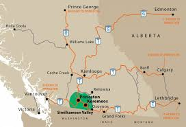 Princeton Map Map Find Your Way To The Similkameen Valley