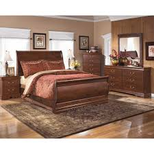 Ashley Bedroom Furniture Set by Queen Sleigh Bed 3 Pc Bedroom Package