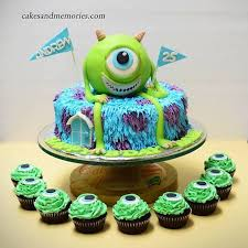 monsters inc birthday cake monsters inc birthday cake cakes and memories
