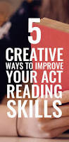 best 25 act reading practice ideas on pinterest reading