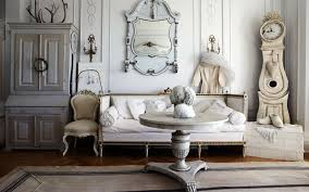 shabby chic living room decorating ideas corner fireplace gray