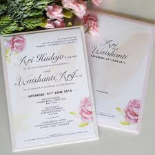 wedding invitations jakarta wedding invitation indonesia best of the nightingale s wedding