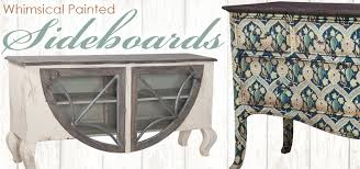 Painted Buffets And Sideboards by Painted Sideboards And Buffets With Flair Blog