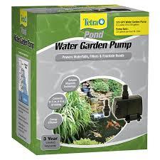 amazon com tetrapond water garden pump 325 gph pet supplies