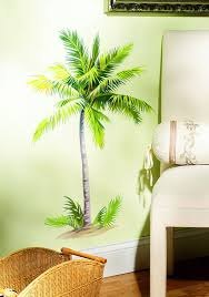 simply diy surfer bedroom decor wallies breezy palm wall mural
