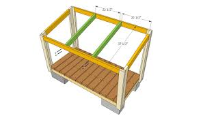 6x10 lean to shed plans front elevation lean to shed plans