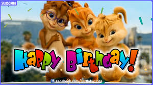 happy birthday singing cards chipmunks chipettes style happy birthday song