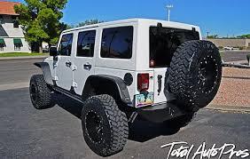 white four door jeep wrangler 2014 jeep wrangler 4 door white total auto pros