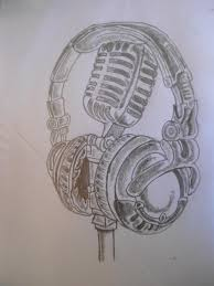mic and headphone by dayo16 on deviantart