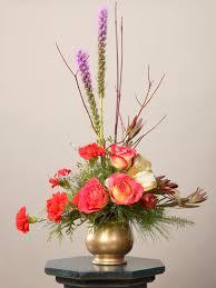 spruce up floral arrangements hgtv