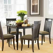 Home Table Decor by Round Black Table Decor For The Dining Room Mdpagans