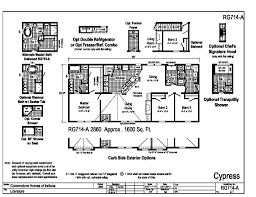 Modular Raised Ranch Floor Plans Grandville Le Modular Ranch Cypress I Rg714a Find A Home