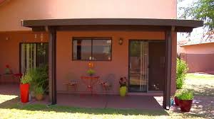 Aluminum Porch Awning Phoenix Patio Systems Aluminum Patio Cover Timelapse Outdoor