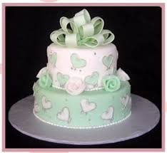 Mint Green Wedding Mint Green Wedding Cake Cakecentral Com