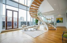 montreal penthouse with the coolest staircase u2013 luxury residence