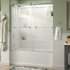 Tub Shower Door Sliding Bathtub Door Installation
