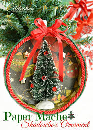 Paper Mache Christmas Crafts - five easy christmas crafts