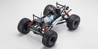 kyosho 1 8 rc 25 engine 4wd monster truck mad crusher rtr readyset