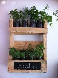pallet wall herb garden u2022 1001 pallets