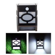 Solar Powered Wall Lights Uk - dropshipping led solar power wall mount lights uk free uk