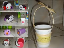 easy craft and games for kids with recycled yogurt cups 6