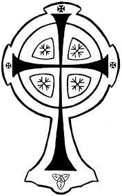 celtic cross clipart cliparthut free clipart
