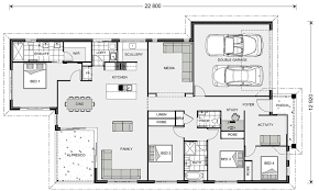 edgewater 203 home designs in batemans bay g j gardner homes