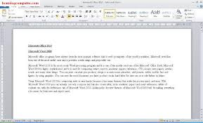 How To Do A Resume On Word 2010 Microsoft Word 2010 Tutorial Office 2010 Training It Computer