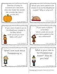thanksgiving thanksgiving conversation starters activities