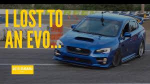 subaru evo black i lost to an evo hin seattle autocross 2015 subaru wrx youtube