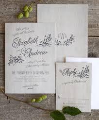 rustic chic wedding invitations rustic chic wedding invitation suite the elli