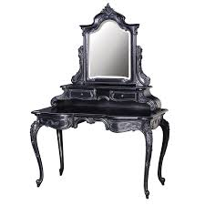 moulin noir french dressing table with mirror french rococo