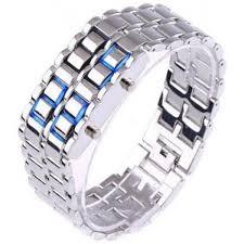 mens bracelet digital images Hala chain bracelet led digital watch for boys men price in jpg