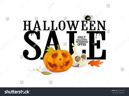 halloween lettering templates halloween sale offer design template stock vector 152549243