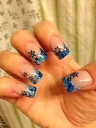 holiday acrylic nails winter sara u0027s nail designs pinterest
