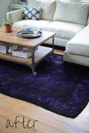 Diy Outdoor Rug With Fabric Over Dyeing A Rug With Rit Dye Via Dyesigner Pattye Duffner U0027s Rit