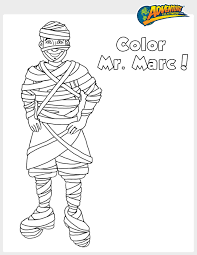 mr freeze coloring pages tricks for halloween treats plus free adventure to fitness
