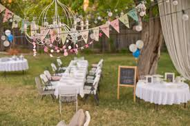 ideas for kids birthday parties outdoor backyard birthday party