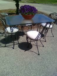 midsummer gardens vintage wrought iron patio furniture is worth