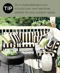 decorating tips from our spring 2014 catalog cabana porch and
