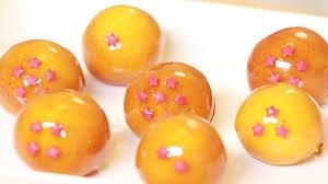 mouthwatering dragon ball creme brulee cake balls