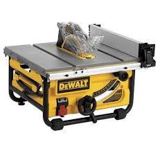 Craftsman Portable Table Saw Dewalt Dwe7480 Review Table Saw Central