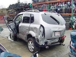 hyundai tucson v6 2005 hyundai tucson parts car
