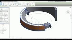 Circle Reception Desk by Generic Model In Revit Part 7 Material Parameter In Generic